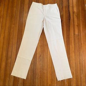 NWT MENS Hickey white tab waist beach pants 32